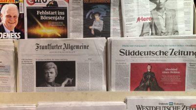 Subventionen für Zeitungen geplant: Kommt nach dem Rundfunkbeitrag jetzt auch die Staatspresse?