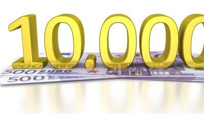 Ökonomen raten der EZB: Erfüllt die Bargeldwünsche der Bürger – druckt die 10.000-Euro-Banknoten!