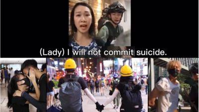 """Hongkong-Angst-Statement: """"NO #SUICIDE"""" – Wenn jeder Tag dein letzter sein kann – Mysteriöse """"Selbstmorde"""""""