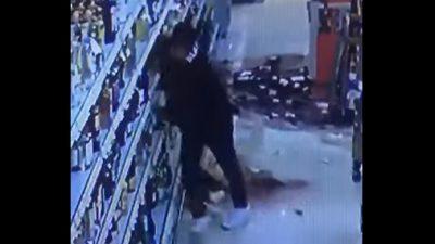 Video aus Nordhausen: Randale im Alkoholregal – Asylbewerber plante Supermarkt anzuzünden