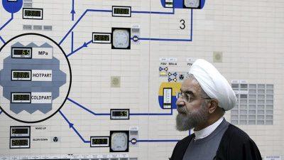 """Iran verkündet weiteren Teilausstieg aus Atomabkommen – USA kritisiert """"atomare Erpressung"""""""