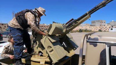 UN-Bericht:Länder schicken Waffen nach Libyen