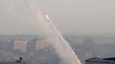 Nach Tötung von Dschihad-Führer: Massive Raketenangriffe auf Israel