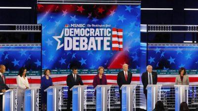 Bewerberfeld der US-Demokraten dünnt sich weiter aus