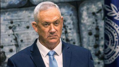 Israel: Regierungspartei Blau-Weiß-Partei will für Auflösung des Parlaments stimmen