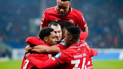 Sieg gegen Hoffenheim: Starkes Mainz-Debüt für Beierlorzer