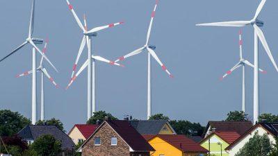 Erneuerbare Energie: Altmaier will auf pauschalen Mindestabstand für Windräder verzichten