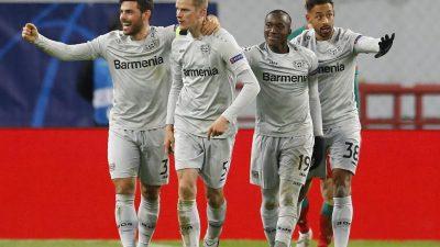 Bayer Leverkusen schockt die Bayern in München
