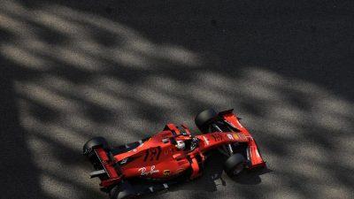Vettel-Unfall im Formel-1-Auftakttraining von Abu Dhabi
