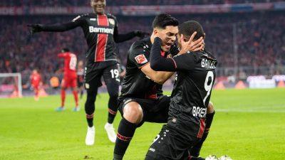 Dämpfer für Flicks Bayern: Niederlage gegen Leverkusen