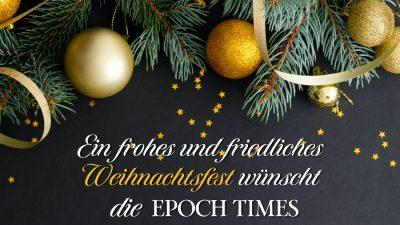 Weihnachtsbotschaft der Epoch Times: Erinnerungen an das Innere – Wir entscheiden, was wir ausstrahlen