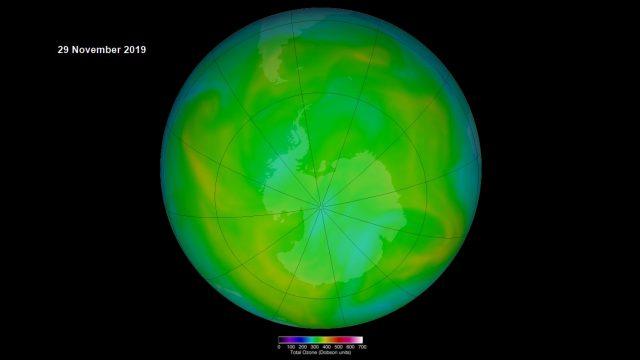 NASA: Ozonloch so klein wie seit 45 Jahren nicht mehr