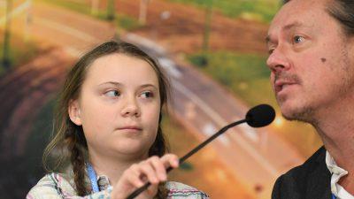 """Svante Thunberg: """"Wollte nicht die Welt retten, sondern Greta"""""""