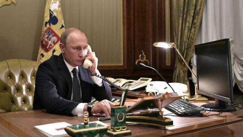 Der russische Präsident Wladimir Putin im Kreml in Moskau.