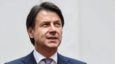Streit um Corona-Konjunkturpläne: Italien droht Regierungskrise