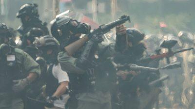 Dioxin: Hongkonger spüren die gesundheitsschädlichen Auswirkungen vom Tränengas
