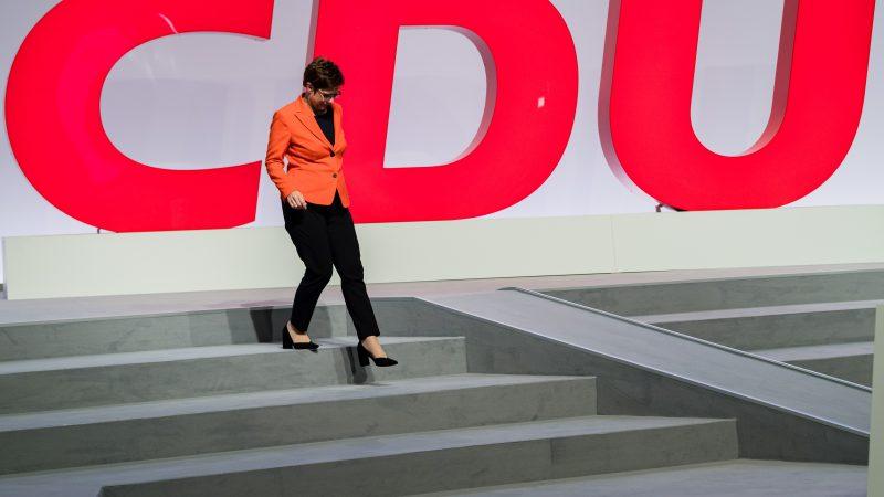 Die CDU hat einen Sonderparteitag angesetzt.