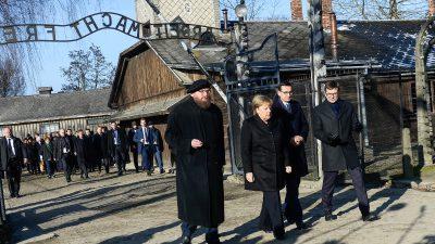 Merkel in Auschwitz eingetroffen