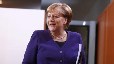 Merkel begrüßt Einigung im Gastransit-Streit