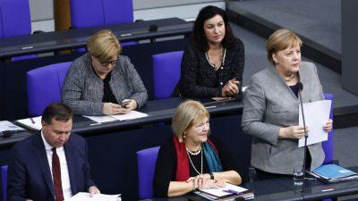 Bundestagsdebatte LIVE: Fragestunde der Kanzlerin, Bürgerrechte, Mieten, Elterngeld, Immobilienkauf, Jobcenter