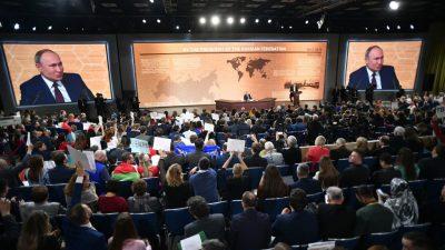 Vier Stunden Pressekonferenz: Ende der Ära Putin naht – Keiner kennt die Gründe für den Klimawandel