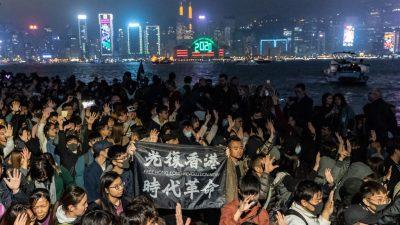 Wegen Protesten: Hongkong sagt städtisches Feuerwerk ab