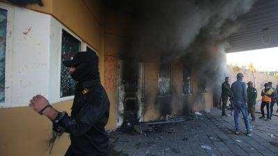 US-Botschaft in Bagdad angegriffen – Kampfhubschrauber zum Schutz der Diplomaten vor Ort