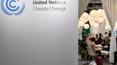 Die Klimaschutz-Schmarotzer in Madrid