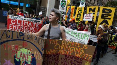 Großer Klimamarsch in Madrid: Thunberg musste aus Sicherheitsgründen weggebracht werden