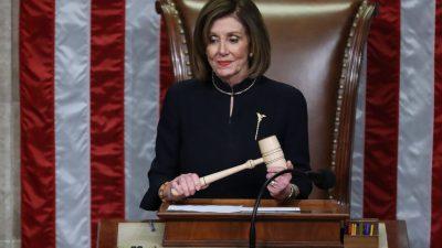 """Amtsenthebung im Repräsentantenhaus – Trump zu Pelosi: """"Kein denkender Mensch nimmt Ihnen das ab"""""""