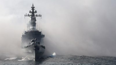 """""""Kornkreise"""" im Navigationssystem: Gefälschte GPS-Daten zeigen """"Geisterschiffe"""" im Gelben Meer"""