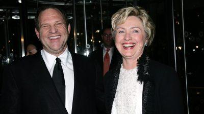 Trotz Sexskandal: Hillary Clinton hielt zu Harvey Weinstein – einem ihrer größten Gönner