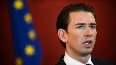 Kurz rechnet mit ÖVP-Grünen-Koalition bis Mitte Januar