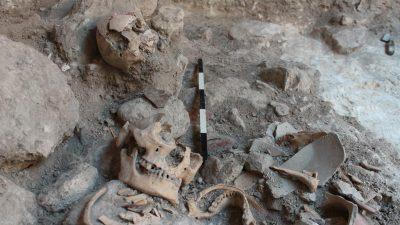 Massengrab der Maya: Isotopenanalyse weist auf Kriegsgefangene hin