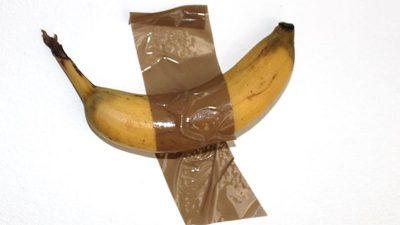 Realsatire: 120.000 Dollar für eine Banane an der Wand