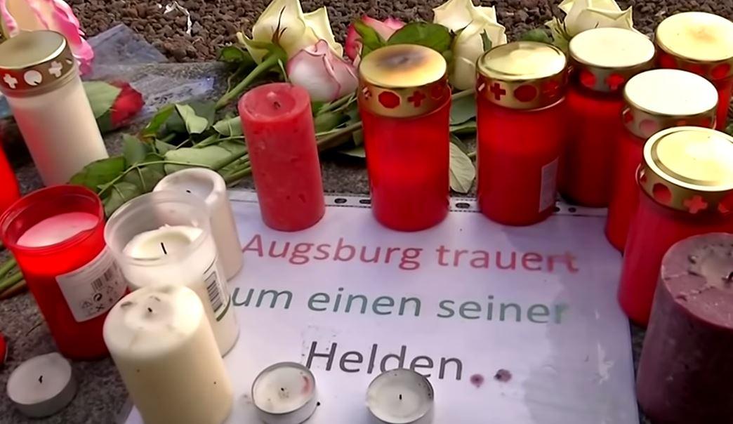 Kranz-Schändung in Augsburg: Antifa attackiert Gedenken an getöteten Feuerwehrmann durch AfD-Landtagsfraktion