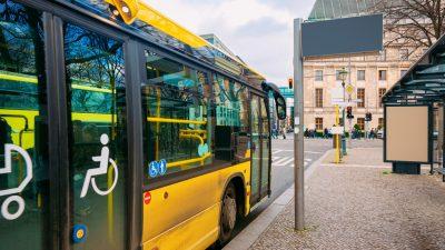 """Diesen Bus steuert ein Deutscher Fahrer"": Ärger wegen Zettel an Dresdner Stadtbus"