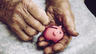 Studie: Jeder vierte Rentner wird 2035 in Grundsicherung abrutschen