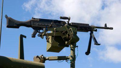 """++UPDATE++""""Terrorabwehr"""": Bundespolizei will Kriegswaffen einsetzen – Maschinengewehre auf Polizeifahrzeuge montiert"""