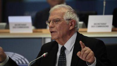 """Neuer EU-Chefdiplomat: """"Wir müssen häufiger die Sprache der Macht sprechen"""""""