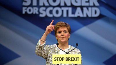 Schottlands Regierungschefin glaubt mehr denn je an Unabhängigkeit