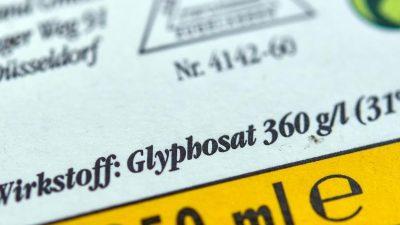 Glyphosat-Hersteller beantragen neue EU-Zulassung ab 2023