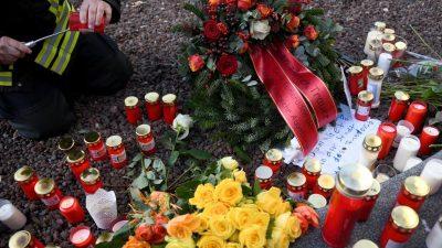 Anklage nach tödlicher Attacke auf Feuerwehrmann in Augsburg an Nikolaustag