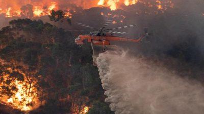 Feuertornado, Menschen verschollen: Flammeninferno in Australien spitzt sich zu