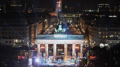 Silvesterparty am Brandenburger Tor beginnt – 1.800 Polizisten im Einsatz