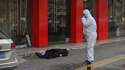 AFP-Journalist in verseuchtem Wuhan entdeckt Toten auf Bürgersteig