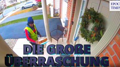Eine kleine große Weihnachtsüberraschung für DHL, FedEx und Co.