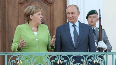 Merkel reist für Krisengespräch zu Putin
