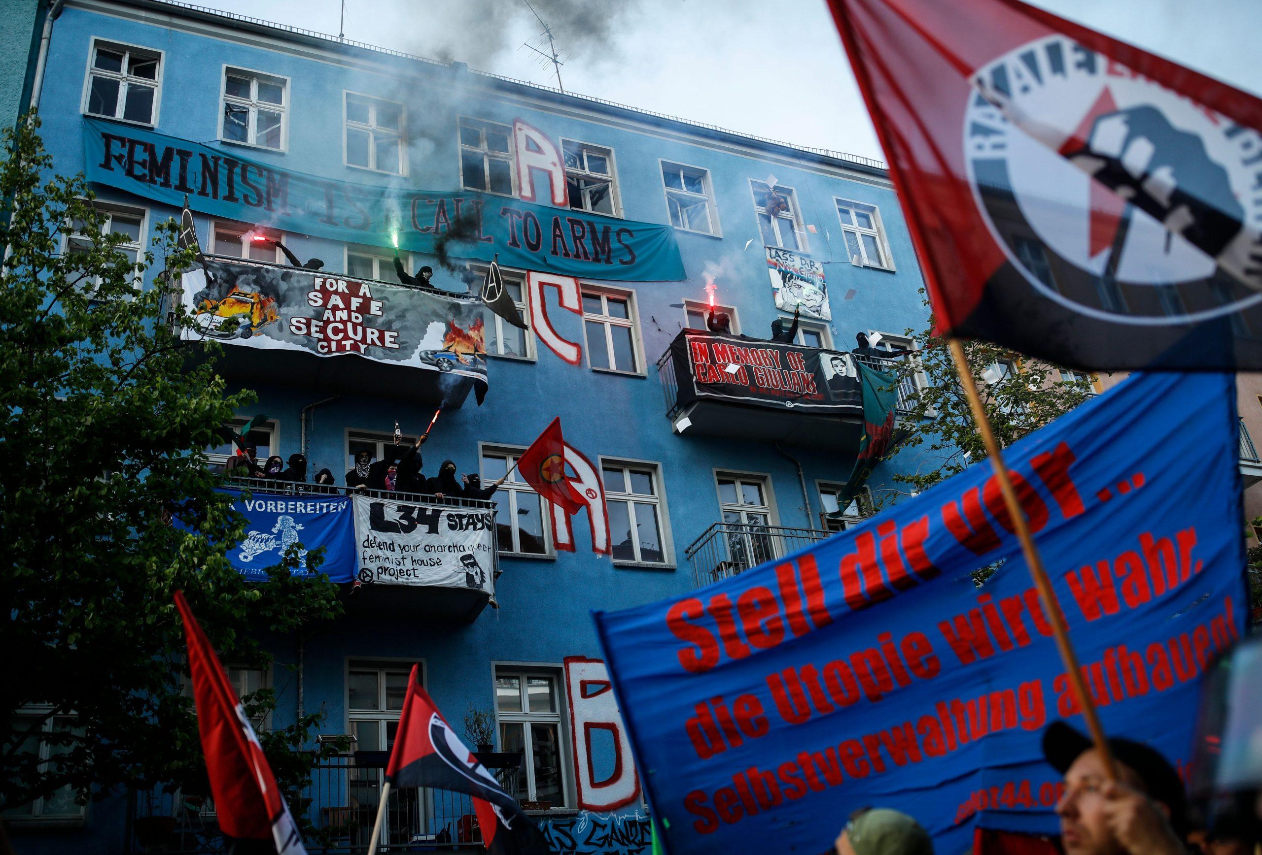 Ehemaliger Bundespolizist Nick Hein: Linke Hausbesetzer terrorisieren Berlin