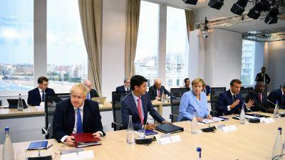"""Merkel, Macron und Johnson: Iran muss sich """"vollumfänglich"""" an Zusagen aus Atomabkommen halten"""
